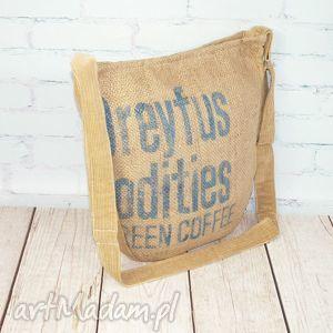 dreyfus, worek, kawa, kawowy, juta, recykling, torba