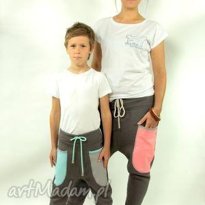 spodnie mama i syn stalove - baggy pants, dres, przedszkole, szkoła, taniec, yoga