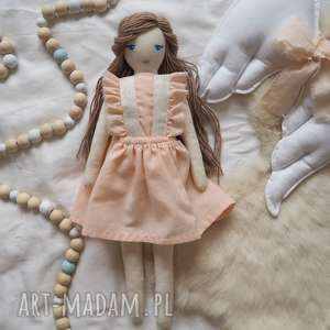 Lalka #214, lalka, przytulanka, szmcianka, personalizowana, domekdlalalek