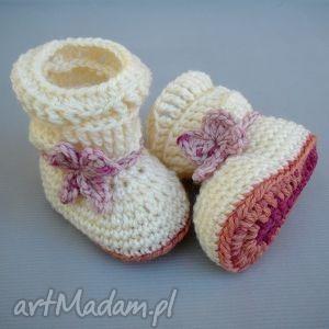 buciki kozaczki madison, buciki, dziecko, niemowlę, dziewczynka, ciepłe, zima