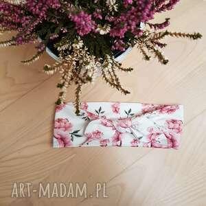ręczne wykonanie ozdoby do włosów kwiatowa opaska pin