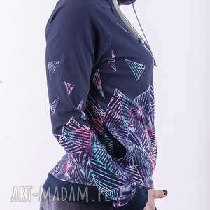 bluza z kapturem craberry love, bluza, spódnica, płaszcz, bluzka, sukienka