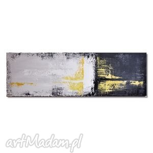 Abstrakcja YGV, nowoczesny obraz ręcznie malowany,