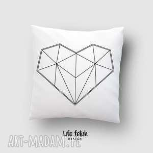 poduszki poduszka z sercem, poduszka, poszewka, serce, miłość, love, dom