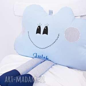Prezent PODUSZKA CHMURKA z możliwością personalizacji, poduszka, dla-niemowlaka