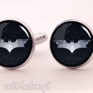 batman - spinki do mankietów - batman, super, bohater, hero, nietoperz, komiks