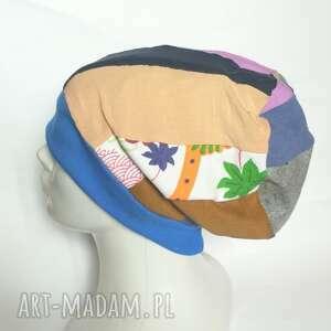 czapka damska etno boho folk box i1, totalne szaleństwo, jest swietna rozmiar