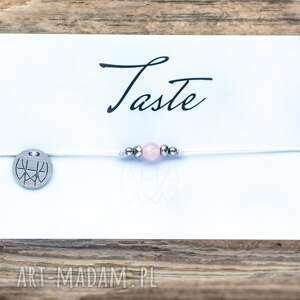 świąteczny prezent, whw taste tiny rose quartz, sznurkowa, sznureczkowa, delikatna