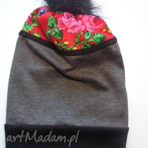czapkaFolk Design Aneta Larysa Knap, góralskie, folk