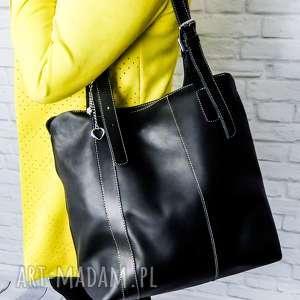 handmade na ramię skóra naturalna, torebka rękodzieło, unikatowa, niebanalna