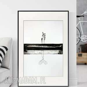 ART Krystyna Siwek Obraz ręcznie malowany 50x70 cm, abstrakcja