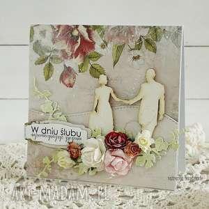 kartka ślubna w pudełku 175, prezent, wesele