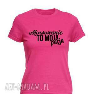 koszulka z nadrukiem dla morsa, prezent najlepszy mors, morsowanie, koszulki