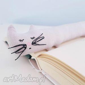 kocia zakładka do książki - ,kot,cat,kotek,zakładka,książka,meow,