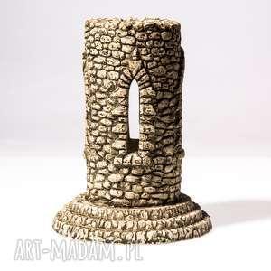 lampion wieża gotycka, lampion, świecznik, wieża, dekoracja, prezent