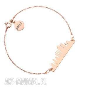 bransoletka z różowego złota barcelona sotho - hiszpania
