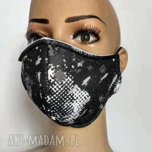 maseczka maska męska moro streetnewstyle z filtrem