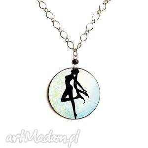 Naszyjnik sailor moon czarodziejka z księżyca naszyjniki theresa