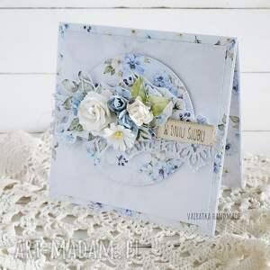 kartka ślubna w pudełku 862, wesele