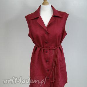 Lniana tunika. sukienka. bluzka., tunika, sukienka, bluzka, len, lato