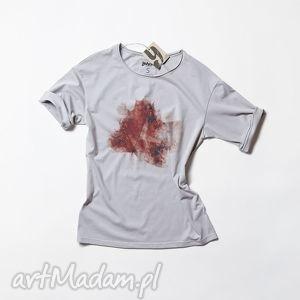RED LEAF koszulka z liściem, tshirt, lisc