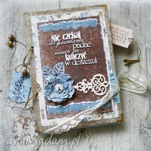 stylowy paryski notatnik /pamiętnik vintage, notes, zapiski, zeszyt