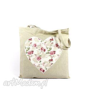 handmade torba codzienna zakupówka 39 shabby chic