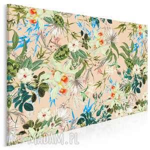 obraz na płótnie - kwiaty rośliny natura 120x80 cm 75701, kwiat