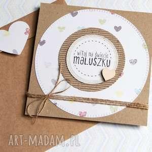 hand-made kartki kartka z okazji narodzin dzidziusia:)