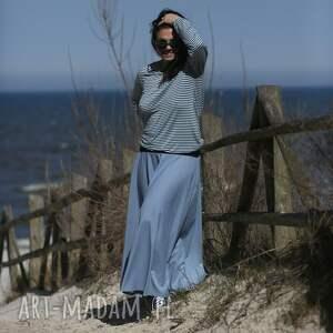 spódnice pastelowa, długa spódnica, maxi, minimalistyczna, bohostyle, zamaszysta