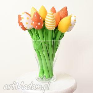 handmade dekoracje bukiet tulipanów