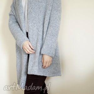 swetry lekki kardigan z alpaki, sweter, kardigan, alpaka, dziergany