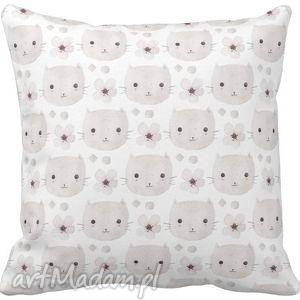Poszewka na poduszkę dziecięca kotki 3045 , poszewka, kotki, koty