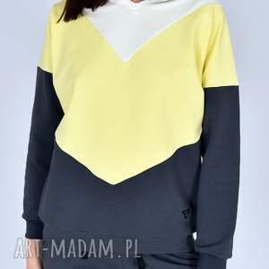 hand-made sportowe bluza wirginia popielata