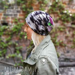 ręczne wykonanie czapki czapka damska dzianinowa wiosenna we wzory