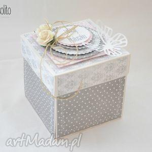 scrapbooking kartki kartka pudełko exploding box, box