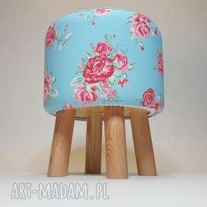 pufa rosa - 36 cm, puf, taboret, hocker, stołek, siedzisko, ryczka