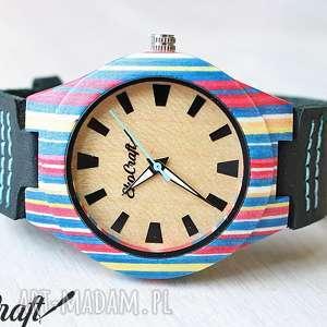 ręcznie wykonane zegarki damski drewniany zegarek parrot