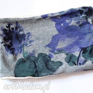hand made opaski opaska dzianinowa kolorowa wiosenna