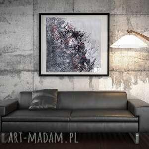 nowoczesny obraz, technika własna, sztuka użytkowa, obraz