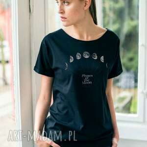 Phases Of The Moon Oversize T-shirt, oversize