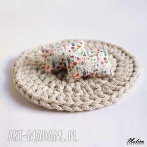 mała poduszka dla lalek, miniaturowa poduszka, akcesoria