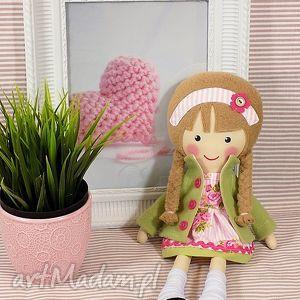 Prezent malowana lala halinka, lalka, zabawka, przytulanka, prezent, niespodzianka