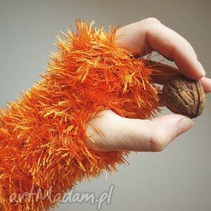 mitenki wiewiórki ocieplacze - mitenki, rękawiczki, ocieplacze, włochate