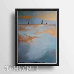 morze-obraz akrylowy formatu 50/70 cm, obraz, akryl, morze
