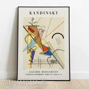 plakaty wassily kandinsky, plakat wystawowy 50x70, wystawowy