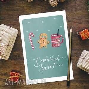 kartka bożonarodzeniowa świąteczna - cardie, świąteczna, boże narodzenie
