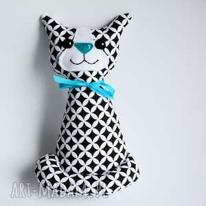 Kotek Miau - Teo 25 cm, kot, kotek, elegant, roczek, chrzciny, niemowlę