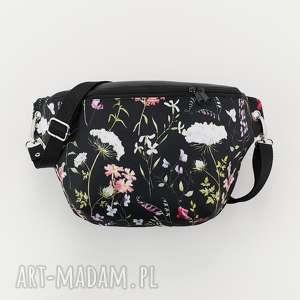 nerka xxl łąka, nerka, kwiaty, romantyczna, torebka, saszetka