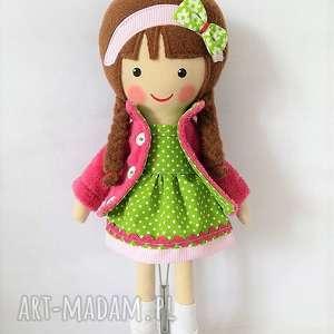 Prezent MALOWANA LALA KARINA, lalka, zabawka, przytulanka, prezent, niespodzianka